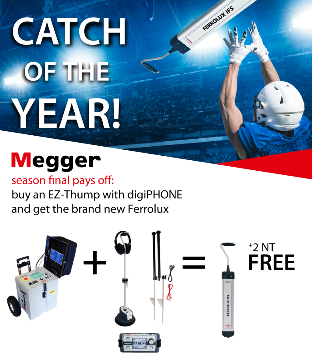 Megger CATCH OF THE YEAR BANNER