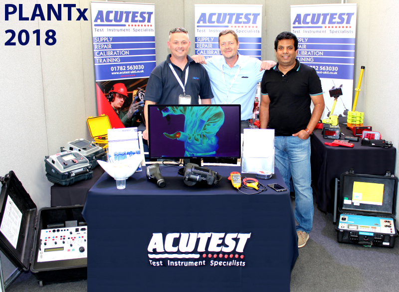 Photo of Acutest exhibiting at the EA Technology event PlantX